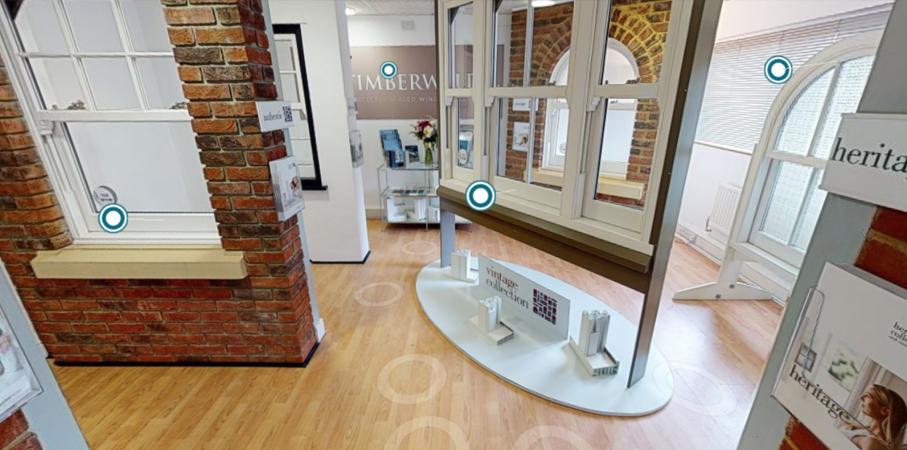 Trade virtual showroom